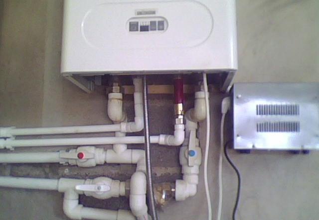 обвязка настенного двухконтурного газового котла фото 7