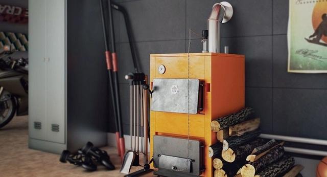 Отопительные котлы длительного горения с водяным контуром для дома 4