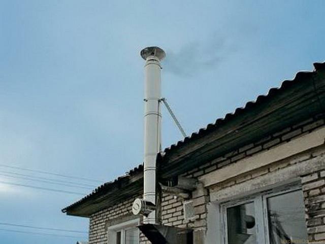 Дымоход для газового котла в частном доме - как правильно сделать 1