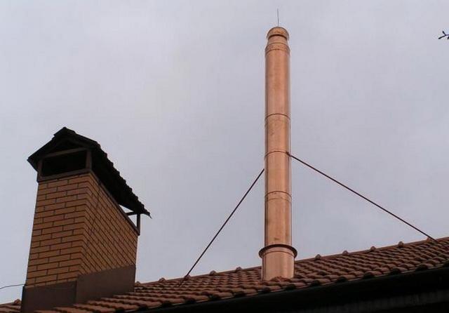 Как можно сделать дымоход для газового котла в частном доме своими руками 3