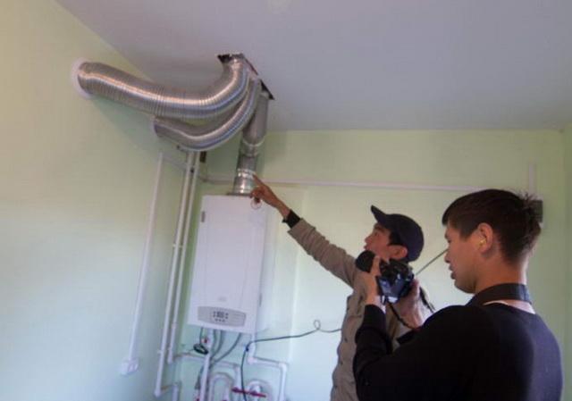 Дымоход для газового котла в частном доме - как правильно сделать 3