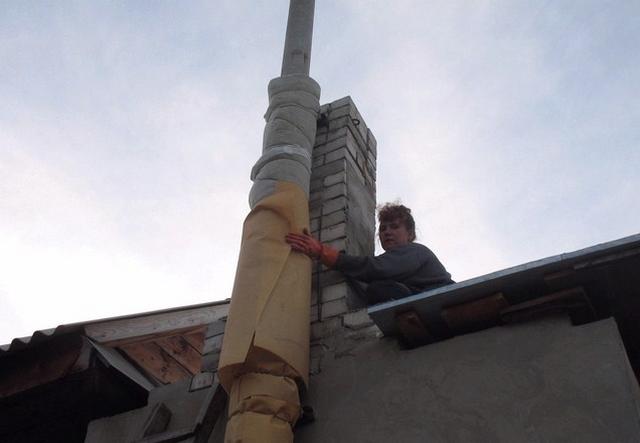Дымоход для газового котла в частном доме - как правильно сделать 4