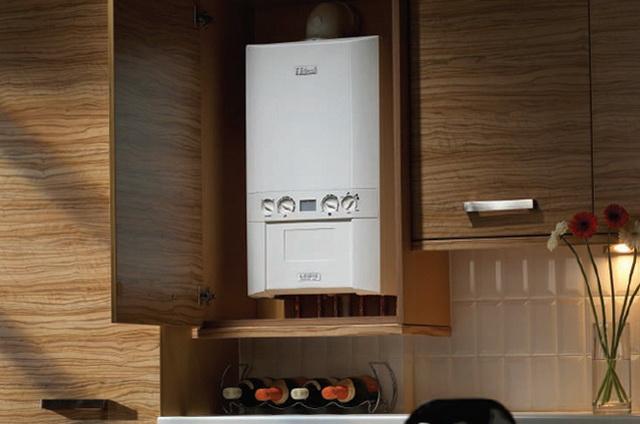 Газовый котел на кухне - как разместить и спрятать (фото) 1