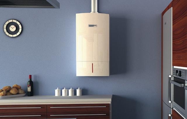 Газовый котел на кухне - как разместить и спрятать (фото) 5