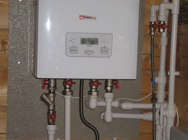 Как провести отопление в частном доме своими руками - схема от котла 3